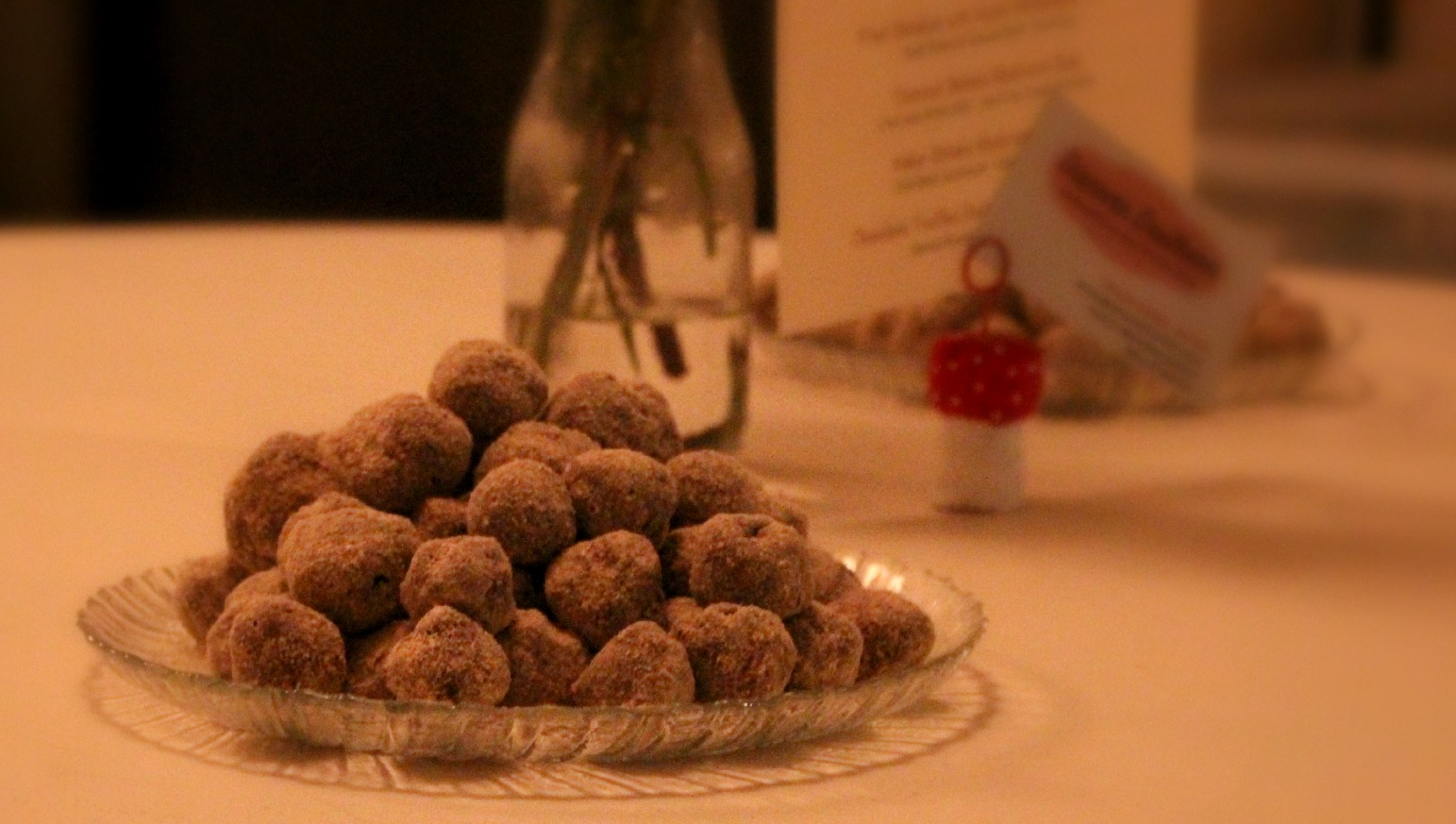 truffles on plate